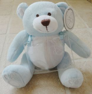 New with Tag ~ Koala Baby Blue & White Plush Teddy Bear ~ Empty Gift