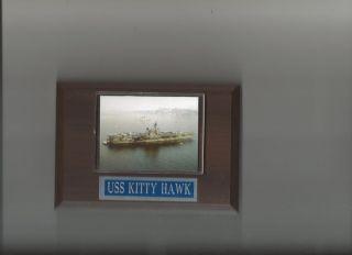 USS Kitty Hawk CV63 Plaque Aircraft Carrier Navy USA US Kittyhawk