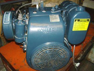Gas Engine 14 HP Kohler Model K321S w Horiz Shaft
