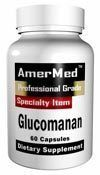 GLUCOMANNAN AmerMed dietary supplement konjac root fiber cholesterol