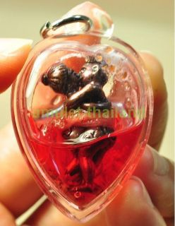 INN KOO Charming Oil Excellent LOVER Buddha Thai Amulet Save Your Love