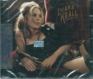 DIANA KRALL, GLAD RAG DOLL. FACTORY SEALED CD. In English.