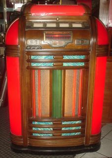 Seeburg Symphonola Jukebox RARE Model Classic w 8 Tubes Amp Original