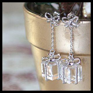 Korean Fashion Jewelry Earrings Christmas Gift Box E93