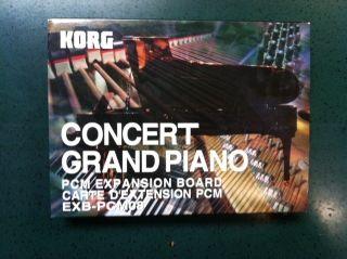 Korg EXB PCM08 EXB 08 Triton Karma Concert Grand Piano Brand Newm