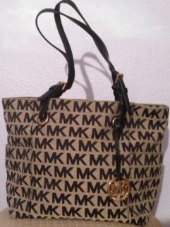 Michael Kors Monogram Black Handbag Michael Kors Purse