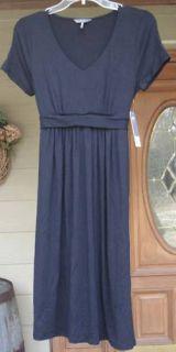 Kristin Davis Jersey Knit Ladies Womens Black Dress Classic Style