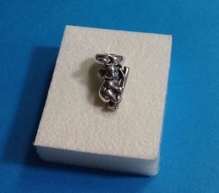 Pandora Sterling Silver Koala Bear Dangle Bead Charm 791085 New