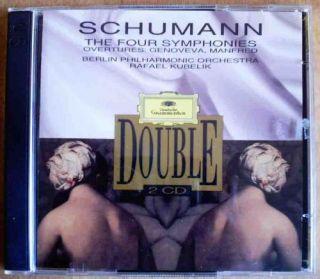 Schumann Four Symphonies Rafael Kubelik 2 CD Set