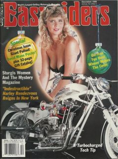 Dec 1988 Easyriders Motorcycle Magazine Special David Mann Poster