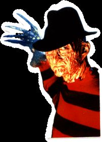 11128 Freddy Krueger Nightmare Elm Street Sticker Decal