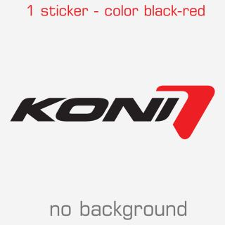 Koni Sticker Decal Logo Multiple Sizes