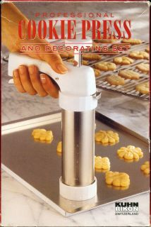 Kuhn Rikon Professional Cookie Press Decorating Set 2461
