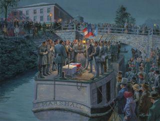 Mort Kunstler Going Home Civil War Print
