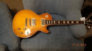 Gibson Les Paul Paul Kossoff Vos Historic Reissue Green Lomon