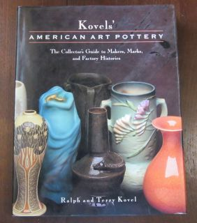 Kovels American Art Pottery Marked 60 Collectors Guide to Makers Marks
