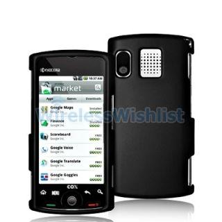 Black Hard Case Accessory for Sanyo Zio Kyocera Phone
