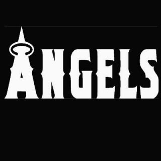 Los Angeles L A Angels Vinyl Decal Sticker 4 x 12