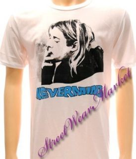 Nirvana Kurt Cobain Rock Music Alternative T Shirt Sz L