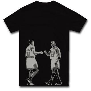 Pippen T Shirt Flu Game 12 Jordan Retro s M L XL 2XL