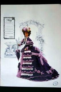 Annies Calendar Barbie Doll Crochet Pattern May 1993
