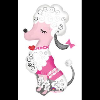 Oh La La French Poodle Paris 36 Mylar Balloon New