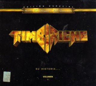 Timbiriche Su Historia Volumen 1 New CD DVD