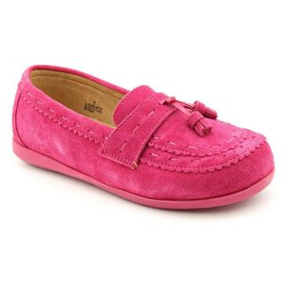 Amour Y620 Youth Kids Girls Size 1 Pink Regular Suede Moccasins