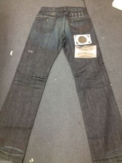 New Mens Jeans Dark Blue Ksubi