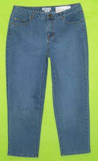 La Blues Wilshire Red Triangle Sz 3 2X Womens Blue Jeans Denim Pants