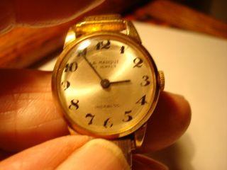 La Marque 17 Jewels Ladies Wrist Watch