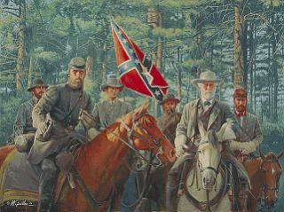 Mort Kunstler Model Partnership Collectible Civil War Print