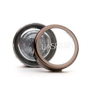 LASplash Cosmetics Crystalized Glitter Eyeshadow Fuse gunmetal 05 oz 1