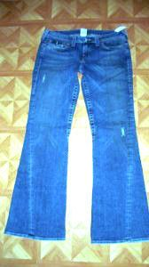 True Religion Jeans Joey Wash Med Vintage Size 32