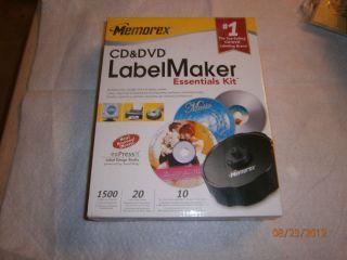 Memorex CD DVD Label Maker Essentials Kit