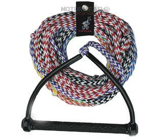 Kwik Tek Airhead Water Ski Rope 8 Section 75 Diamond Handle Ahsr 8