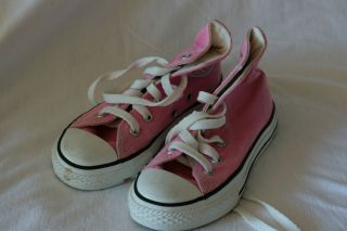 Pink Chuck Taylor Converse High Top Sneakers Size 11