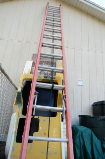 28ft Werner Fiberglass Extension Ladder
