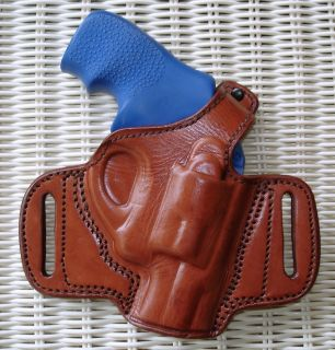 Brown Leather Belt Holster 4 s w Ladysmith 38