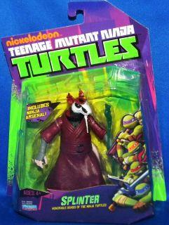 Splinter Teenage Mutant Ninja Turtles 4 5 Figure Line Nickelodeon