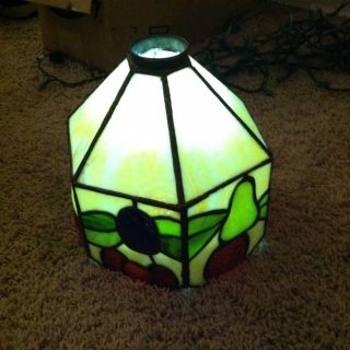 Vintage Tiffany Style Stained Glass Lamp Shade