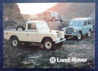 Land Rover Series III Sales Brochure Feb 1977 3252