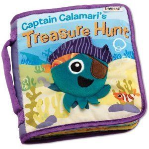 Lamaze Captain Calamaris Treasure Hunt Soft Book Infant Development