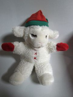 VINAGE 1988 Lamb Chop Hand Puppe 1988 SHARI LEWIS ENERPRISES