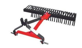 Landscape Rake 3 Point Hitch Mounted 48 Wide