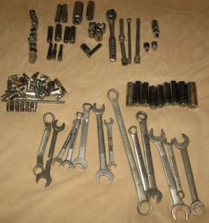 Craftsman Tools Mixed Lot Specialty Tools Scockets Open End Boxed