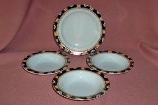 Antique Wood Sons Windsor Pattern 3 Fruit Bowls 1 Bread Butter Plate
