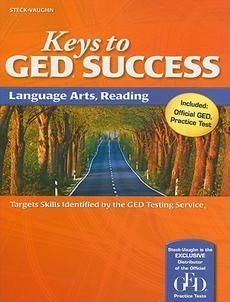 GED Success Language Arts Reading by Paperback Book 1419053493