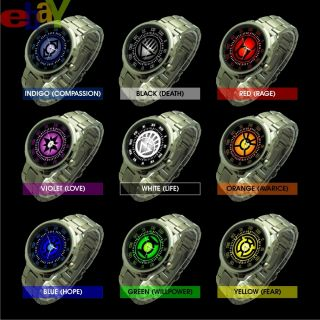 Complete Power Rings of DC Universe Green Lantern Watch