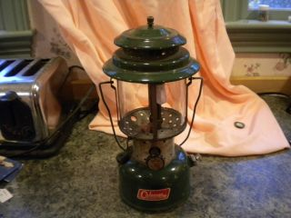 Coleman Camping Lantern 220F Dated 2 65